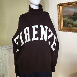 "BNWT Turtleneck Sweatshirt ""Firenze"""